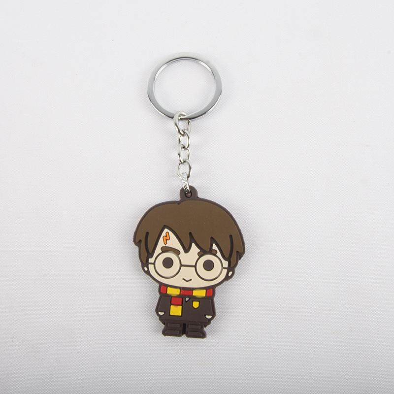 Harry potter key chain accessory Q version of a number of characters hanging accessories