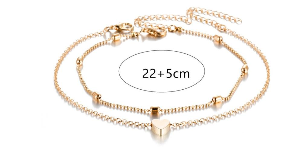 Pineapple Pendant Anklet Beads 2018 Summer Beach Foot Jewelry Fashion Style Anklet