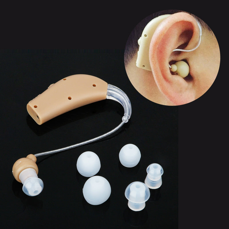 Rechargeable Hearing Aid Sound Amplifier