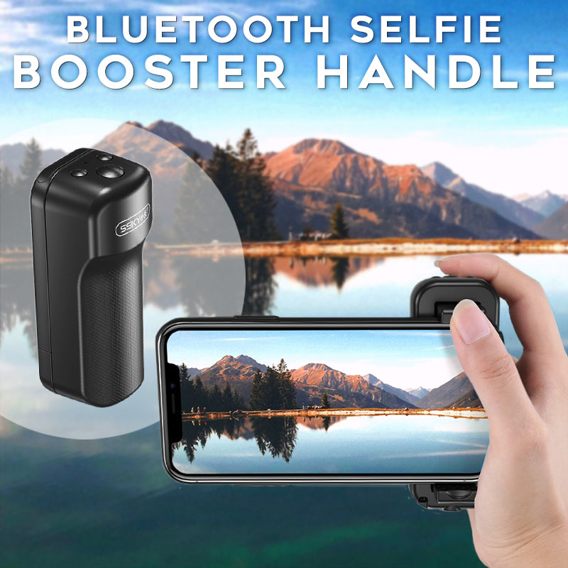 Bluetooth Selfie Booster Handle