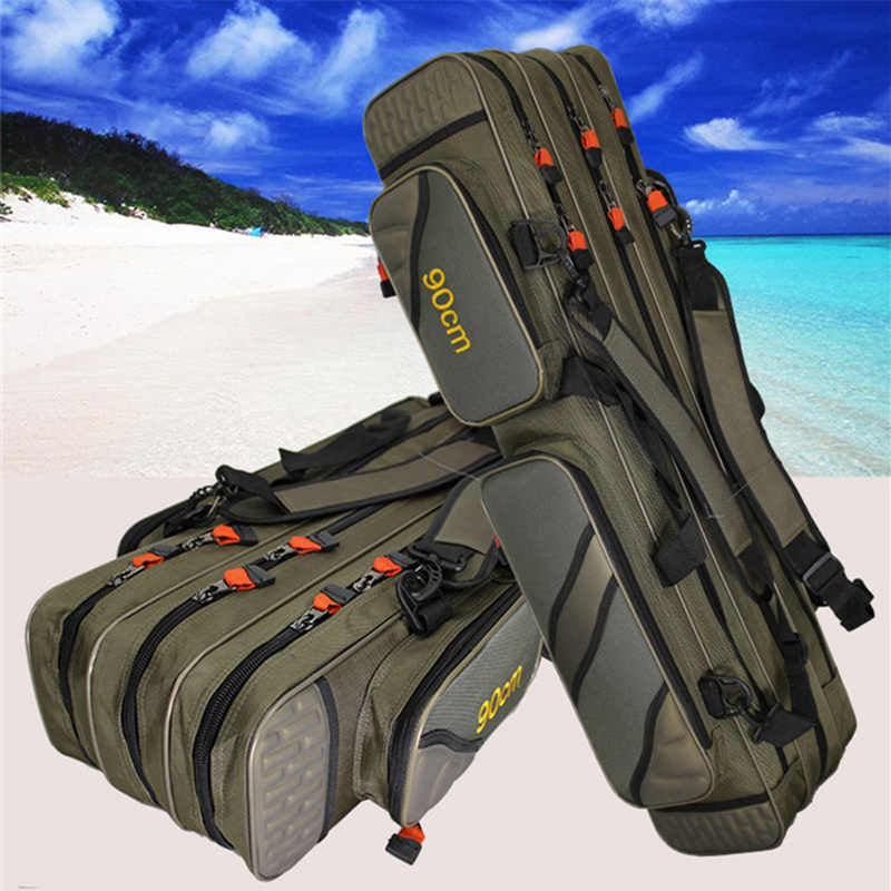 Layered Waterproof Fishing Bag