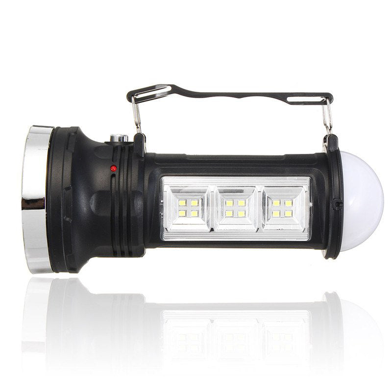 Solar LED Camping Flashlight