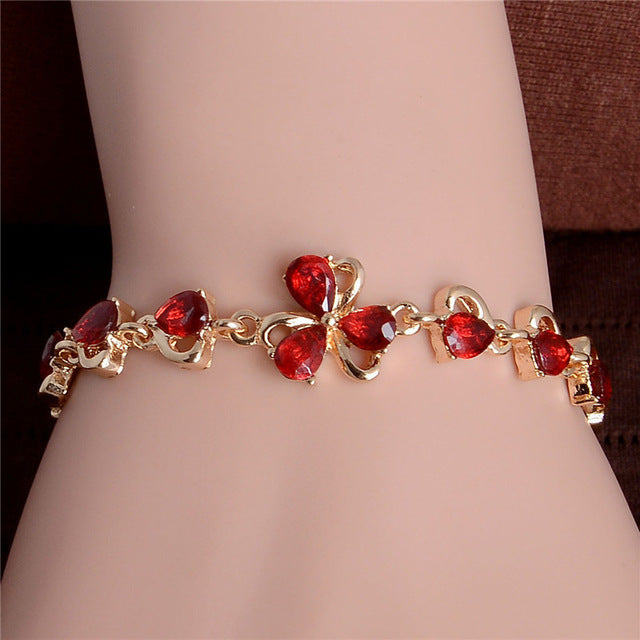 Austrian Color Crystal Bracelet