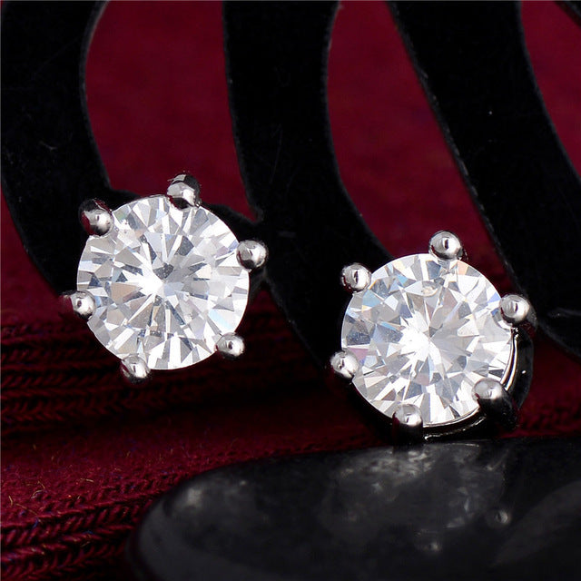 Sweet-Silver Stud Earrings