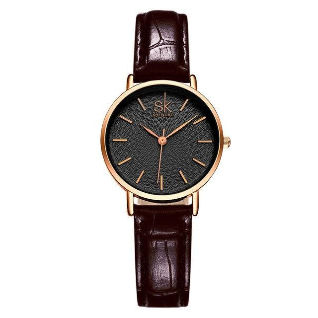 Luxury Women's Golden Dial Bracelet Watch
