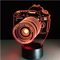 3D LED Theme Lamp