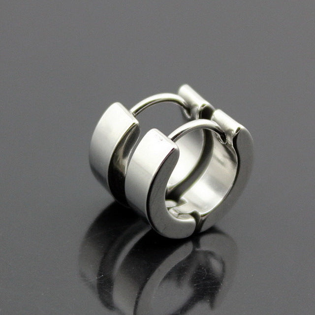 Punk Alloy Hoop Piercing