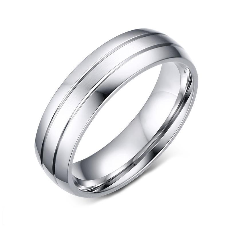 Classic Men's Wedding Ring