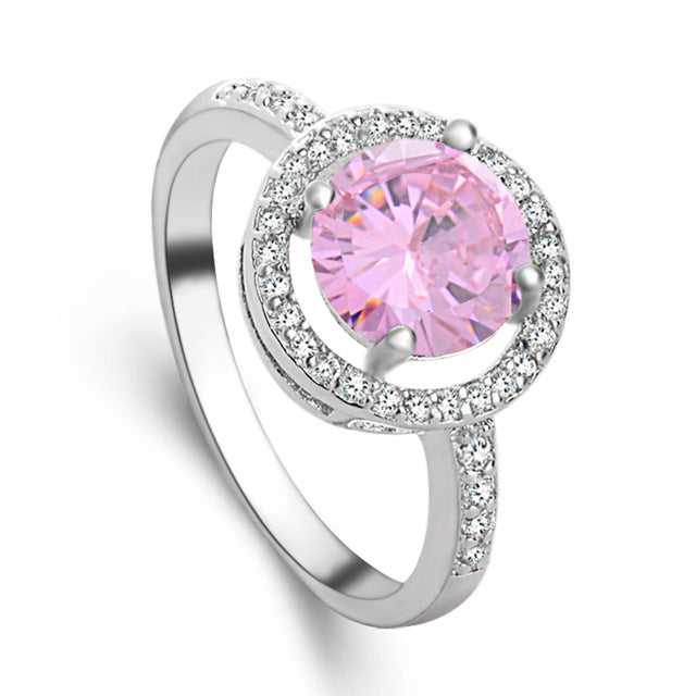 4-Prong 1.5ct Cubic Zirconia Ring