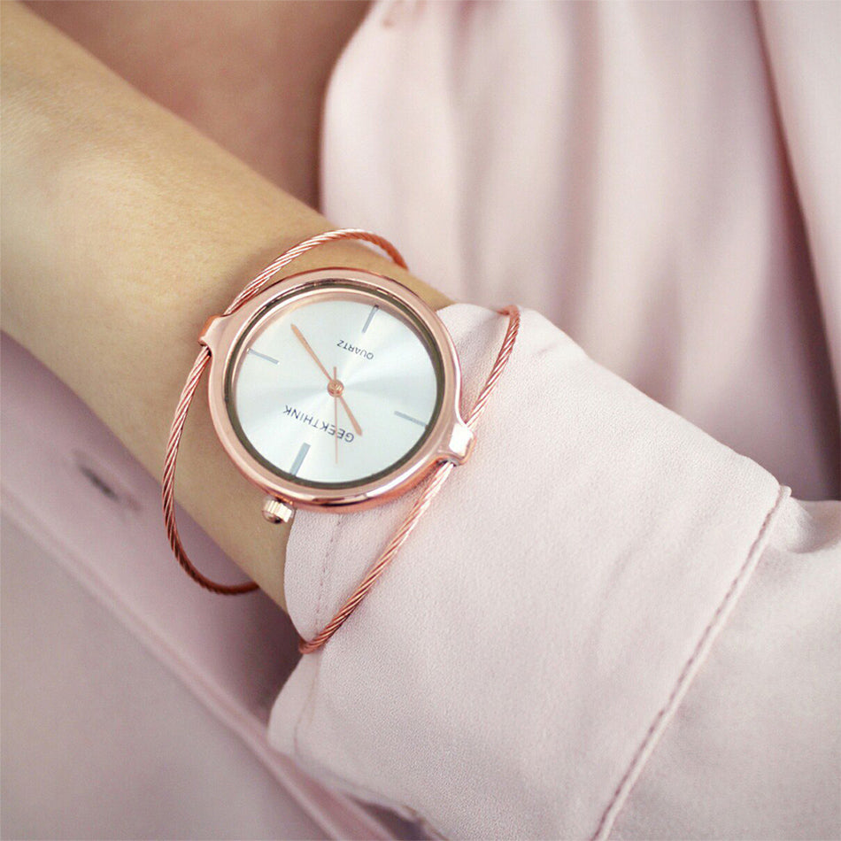 Metropolitan Ladies Luxury Quartz Bracelet Watch