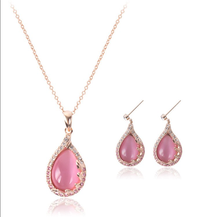 Austrian Crystal Water Drop Set