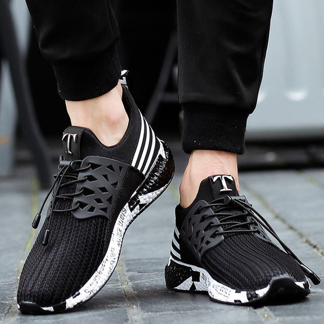 Soft Bottom Mesh Sneakers