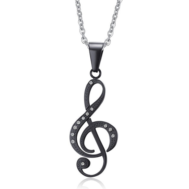 Musical Pendant & Necklace