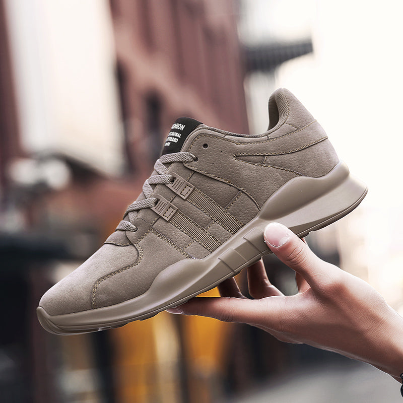 Rough & Tough Leather Fashion Sneakers