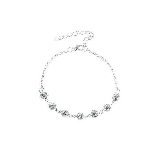 Bohemian Crystal Anklet