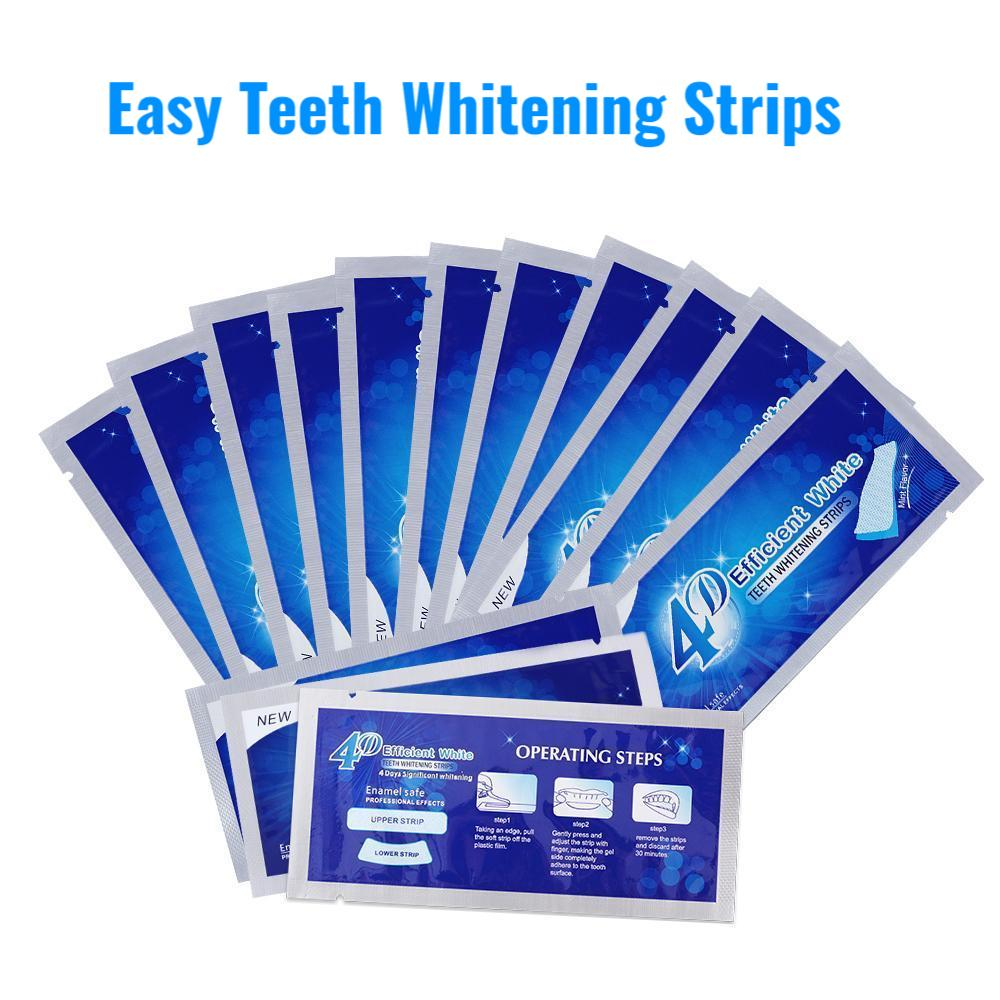 Easy Teeth Whitening Treatment Strips