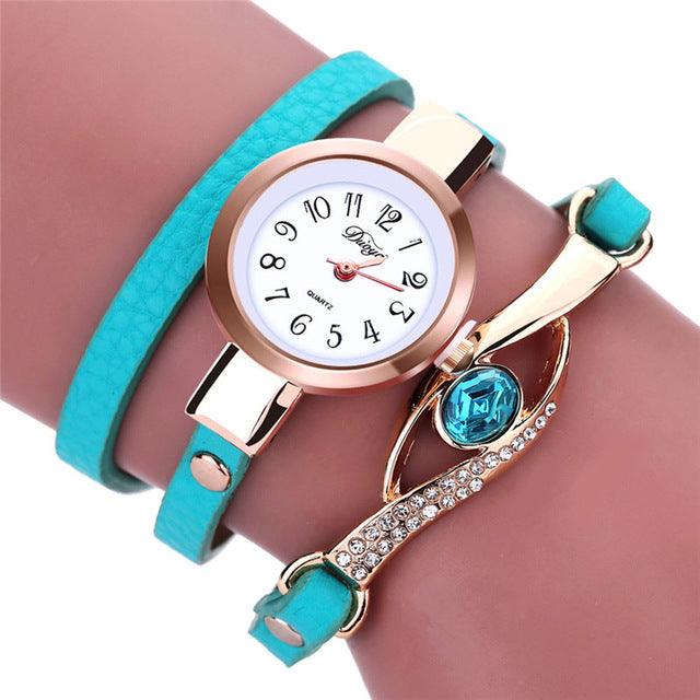 Gemstone Strap Wristwatch