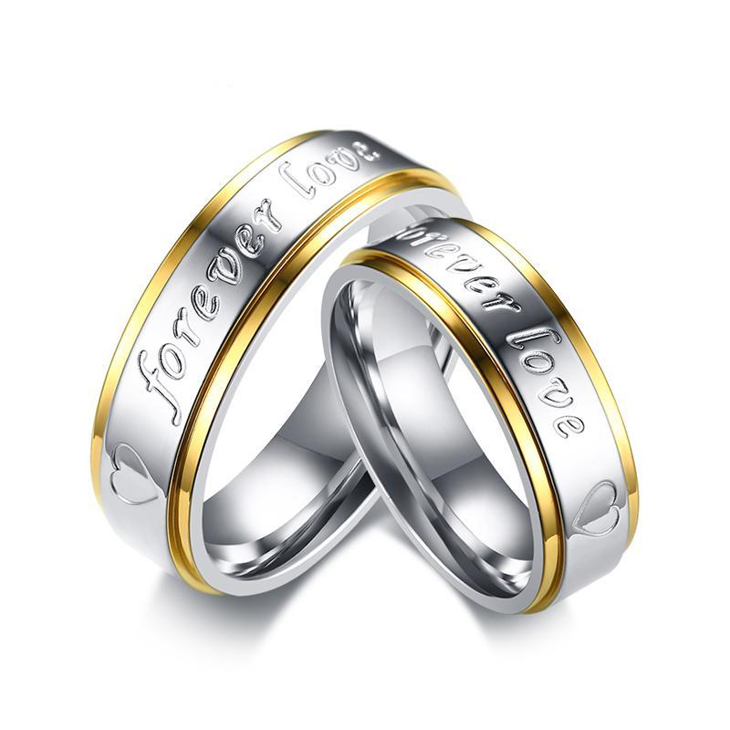 His & Her Forever Wedding Bands
