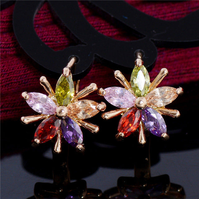Cubic Zirconia Rainbow Collection