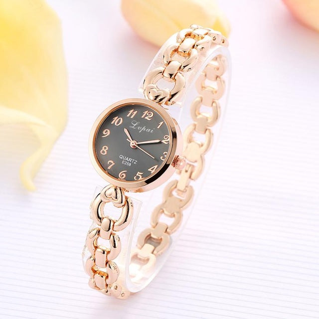 Quartz Chain Bracelet Watch