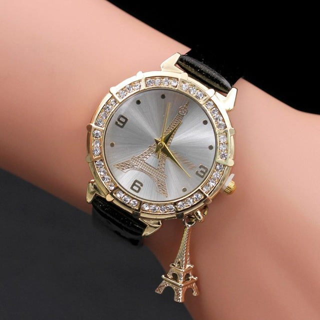 Charming Paris Wrist Watch