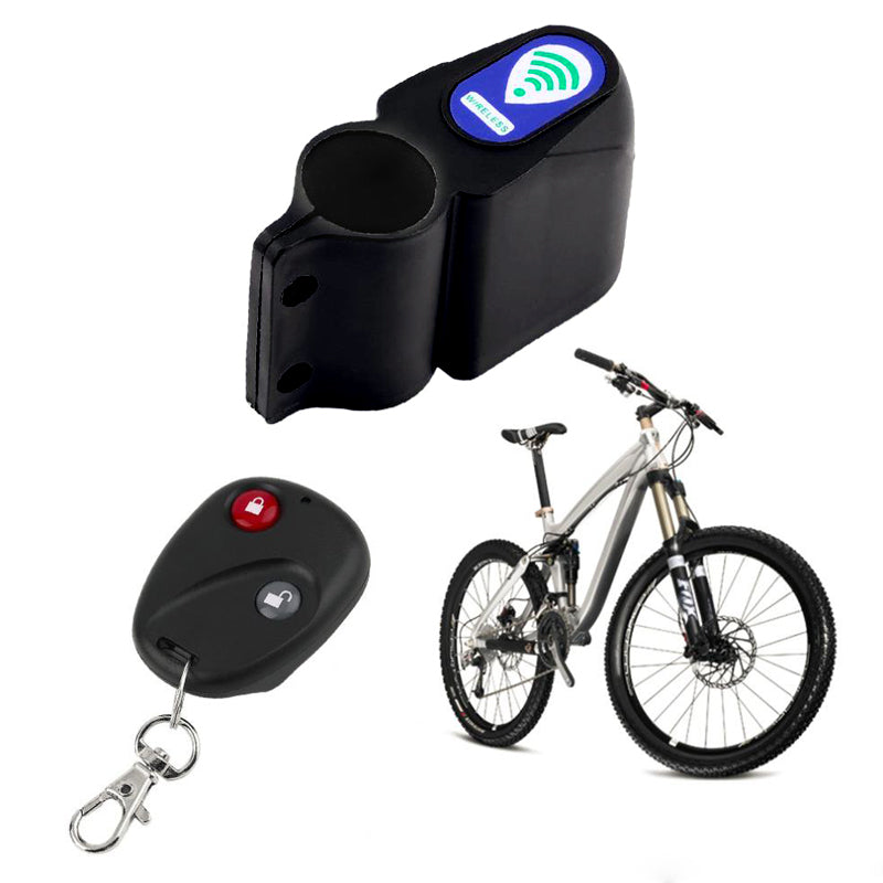 Remote Anti-Theft Bike Lock