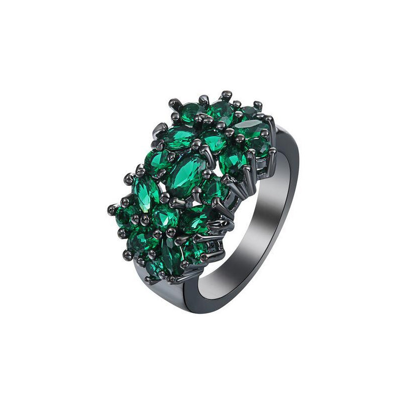 Zirconia Cluster Fashion Ring