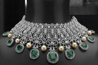 Green Crystal Neckless