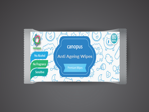 Anti-Ageing Wipes