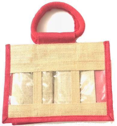 Jute Hamper Bag