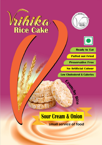 Rice Cake - Sour Cream & Onion