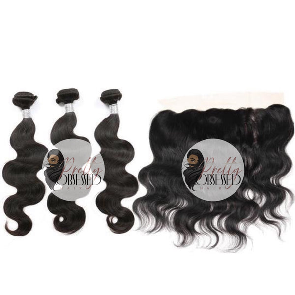 Caribbean Body Wave Frontal & Bundles
