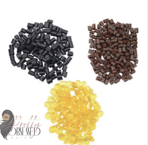 400 Keratin Grain Beads Re-Bond (single strand)