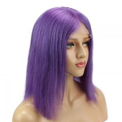 full lace wig purple