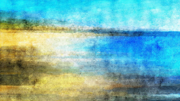 Abstract Beach Canvas -  wall murals from Pattern and Picture