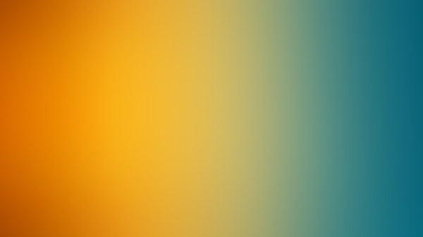 Abstract gradient orange green - single-piece wallpaper from Pattern and Picture
