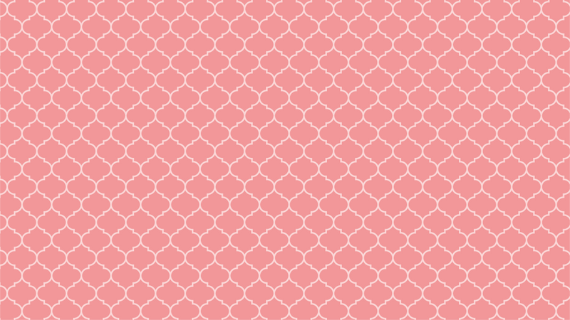 Aladdin In Blush art deco and geometric wallpaper from Pattern and Picture