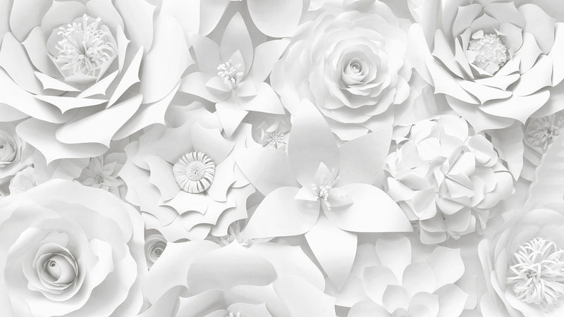 Fair Fiori -  unique single-piece wallpaper from Pattern and Picture