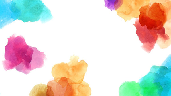 Little Fluffy Colour Clouds - single-piece wallpaper from Pattern and Picture