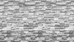 Modern Brick Black and White texture effect wallpaper from Pattern and Picture