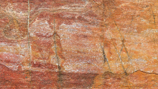 Natural Red Stone texture effect wallpaper from Pattern and Picture