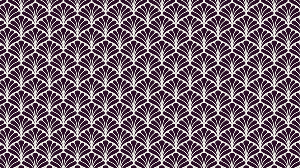Peacock Purple art deco and geometric wallpaper from Pattern and Picture