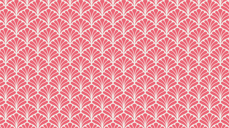 Peacock Rose art deco and geometric wallpaper from Pattern and Picture