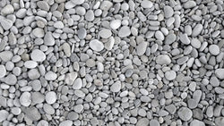 Pebbly Beach Black and White texture effect wallpaper from Pattern and Picture