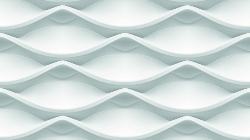 Pure Ripple -  unique single-piece wallpaper from Pattern and Picture