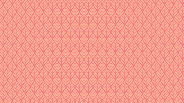 Salvia Coral art deco and geometric wallpaper from Pattern and Picture