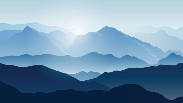 Smokey Mountain Sunrise wallpaper from Pattern and Picture