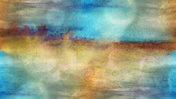 Texture watercolour brown blue - single-piece wallpaper from Pattern and Picture