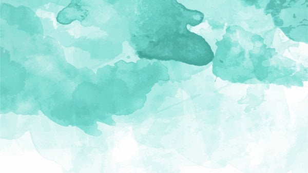 Turquoise Sky - single-piece wallpaper from Pattern and Picture
