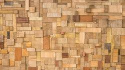 Wood Block texture effect wallpaper from Pattern and Picture